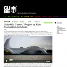 KOIS ASSOCIATED ARCHITECTS Scientific centre for Cube Me