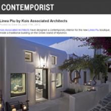 KOIS ASSOCIATED ARCHITECTS  Linea Piu Boutique for Contemporist