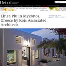 KOIS ASSOCIATED ARCHITECTS  Linea Piu Boutique for Delood