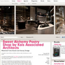 KOIS ASSOCIATED ARCHITECTS  Sweet Alchemy Frame Magazine Web