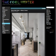 KOIS ASSOCIATED ARCHITECTS Ileana Makri Store for THE COOL HUNTER