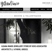 KOIS ASSOCIATED ARCHITECTS Ileana Makri Store for Yellowtrace