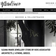 KOIS ASSOCIATED ARCHITECTS Ileana Makri Store for Yellowtrace