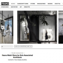 KOIS ASSOCIATED ARCHITECTS Ileana Makri Store for FRAMEWEB