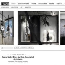 KOIS ASSOCIATED ARCHITECTS Ileana Makri Store for FRAMEWEB