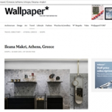 KOIS ASSOCIATED ARCHITECTS Ileana Makri Store for Wallpaper magazine