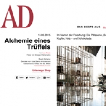 KOIS ASSOCIATED ARCHITECTS Sweet Alchemy for AD magazine