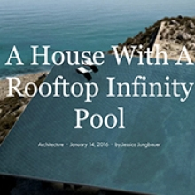 mirage infinity pool kois associated architects ignant