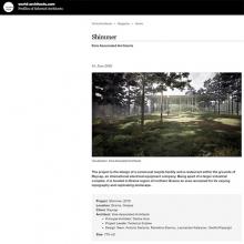SHIMMER RESTAURANT KOIS ASSOCIATED ARCHITETCS